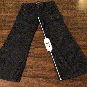 Wide leg Hudson Jeans